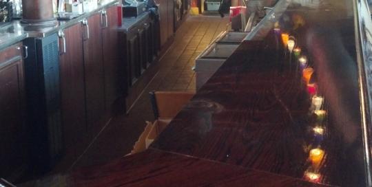 Red Robin Countertop